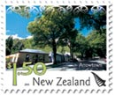 New scenic definitive postage stamp for New Zealand Post by Rob Suisted, Arrowtown, New Zealand