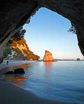 Photographer at Cathedral Cove